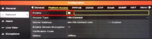 Hik-Connect Connection Failed