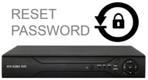 Reset Password of DVR