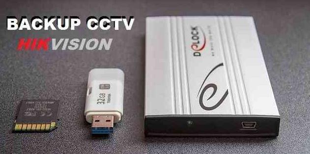 Create Hikvision DVR Backup