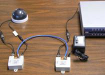 Long-distance CCTV Installation